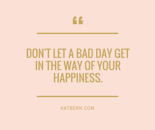 Don't let a bad day get in the way of your happiness. Try this instant mood changer instead. It's natural, free and without prescription! Click here to read the whole article http://bit.ly/1VWClzE